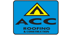 Roofing company logo